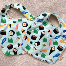 Load image into Gallery viewer, Baby Bibs | Sushi