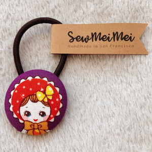 SewMeiMei - Big Hair Ties - Doll