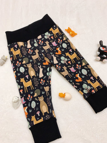 SewMeiMei Woodland Animals Children Joggers Unisex