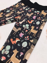 Load image into Gallery viewer, SewMeiMei Woodland Animals Children Joggers Unisex