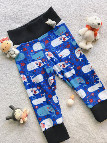Toddler Pants | Whales | Gender Neutral