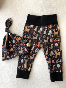 Toddler Pants | Woodland Animals | Gift Set