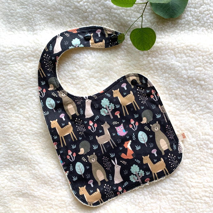 Baby Bibs | Woodland Animals