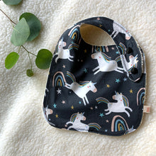 Load image into Gallery viewer, Baby Bibs | Unicorns