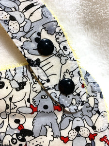 Dogs Bib + Burp Cloth | Gift Set