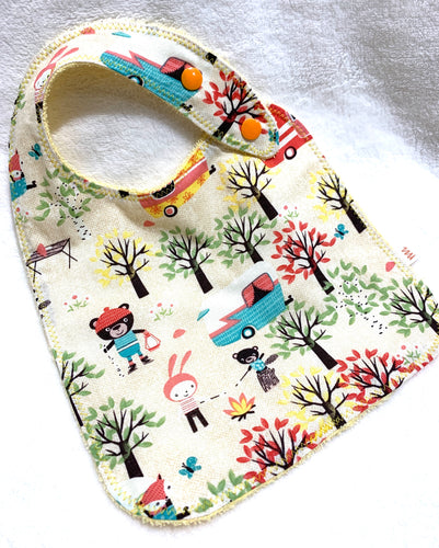 Baby Bibs | Campers Terry Cloth