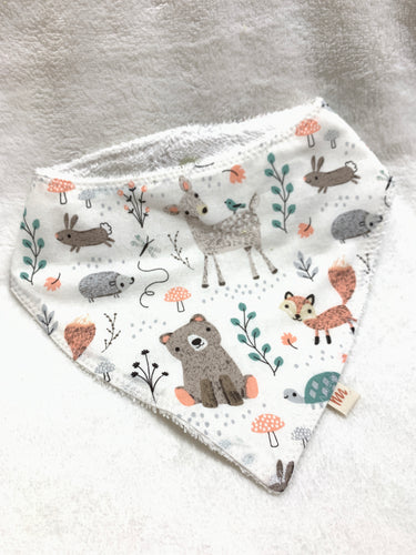 Baby Bandanas | Forest Animals