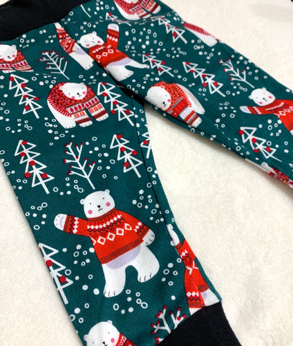 Toddler Pants | Holiday Bears | Gender Neutral