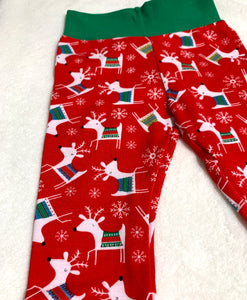 Toddler Pants | Holiday Reindeers | Gender Neutral