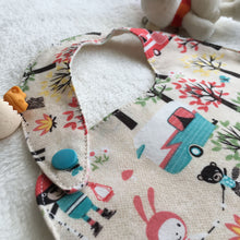 Load image into Gallery viewer, SewMeiMei Unisex Baby Bibs - Campers