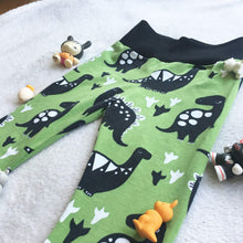 Load image into Gallery viewer, Kid Joggers - Baby Pants - Dinosaurs - CUTE - Comfortable
