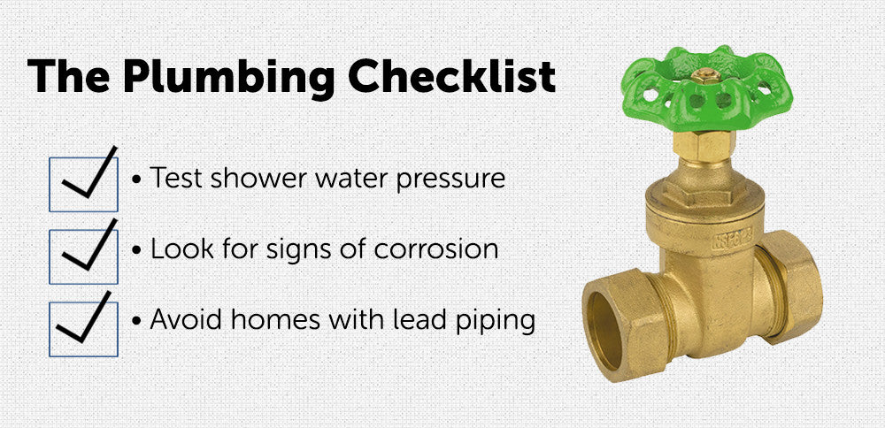 The Plumbing Checklist