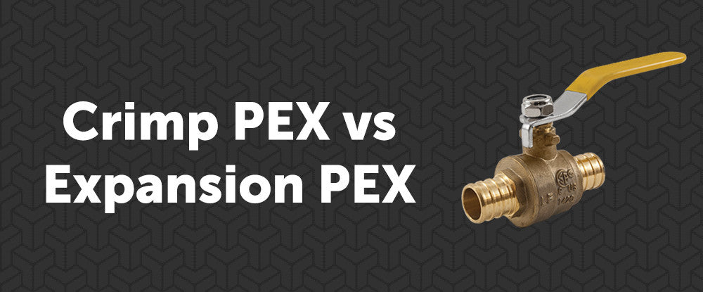 Expansion PEX vs Crimp Pex: Find Out Which to Choose for Your Project!