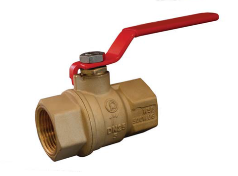 Threaded Brass Ball Valve with Steam Trim - Valve Warehouse