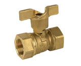 Threaded Premium Brass Gas Ball Valve - Valve Warehouse - 2