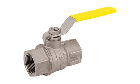 Threaded Premium T.E.A. Coated Brass Ball Valve with Stainless Steal Ball & Stem - Valve Warehouse
