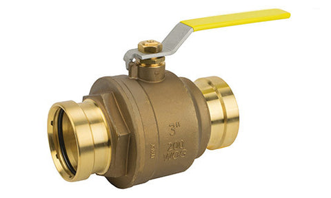 XLC Press Connection Premium Lead Free Brass Ball Valve - Valve Warehouse