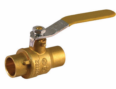 Sweat Brass Ball Valve - Valve Warehouse