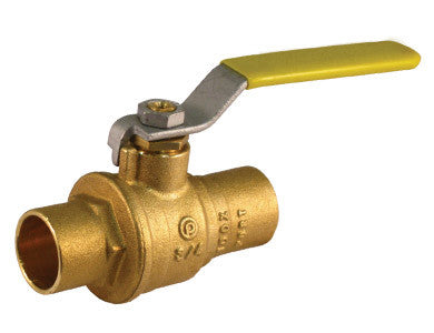 Sweat Premium Brass Ball Valve - Valve Warehouse
