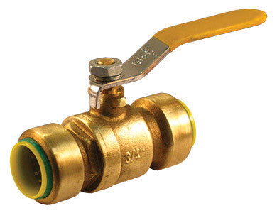 Lead Free Brass Push-Fit Ball Valve - Valve Warehouse