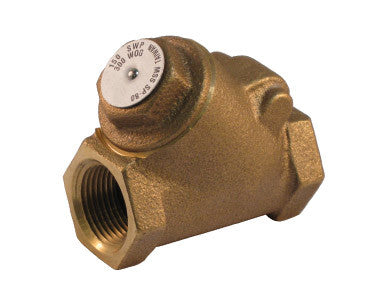 Threaded Bronze Y-Pattern Check Valve - Valve Warehouse