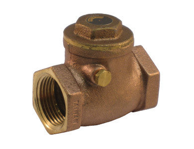 Threaded Lead Free Brass Horizontal Check Valve - Valve Warehouse