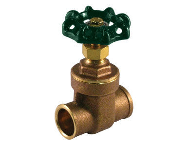 Sweat Lead Free Brass Gate Valve - Valve Warehouse