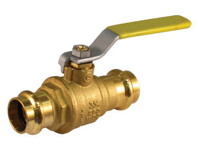 Press Connection Premium Brass Ball Valve - Valve Warehouse