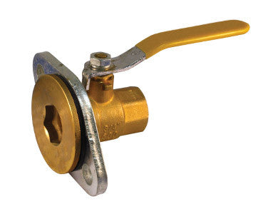 Threaded Brass Swivel Pump Flange Valve - Valve Warehouse