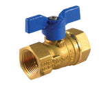 Threaded Premium Brass Gas Ball Valve - Valve Warehouse - 1