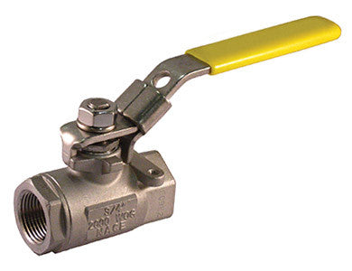 Threaded Stainless Steel Ball Valve 2000 WOG - Valve Warehouse