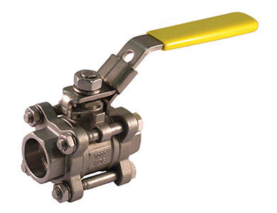 Socket Weld Stainless Steel Ball Valve with Swing Out Body 1000 WOG - Valve Warehouse