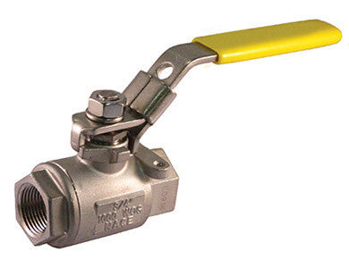 Threaded Stainless Steel Ball Valve 1000 WOG - Valve Warehouse