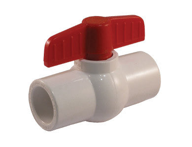 Solvent PVC Ball Valve with NPS Connections - Valve Warehouse