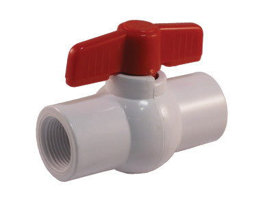 Threaded PVC Ball Valve with NPS Connections - Valve Warehouse