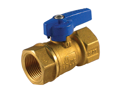 Threaded Premium Brass Gas Ball Valve with Teardrop Handle - Valve Warehouse