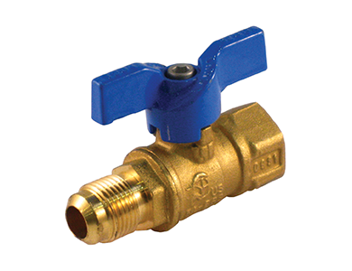 Flare x Threaded Premium Gas Ball Valve with T-Handle - Valve Warehouse