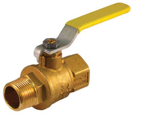 Male x Female Threaded Premium Brass Ball Valve - Valve Warehouse