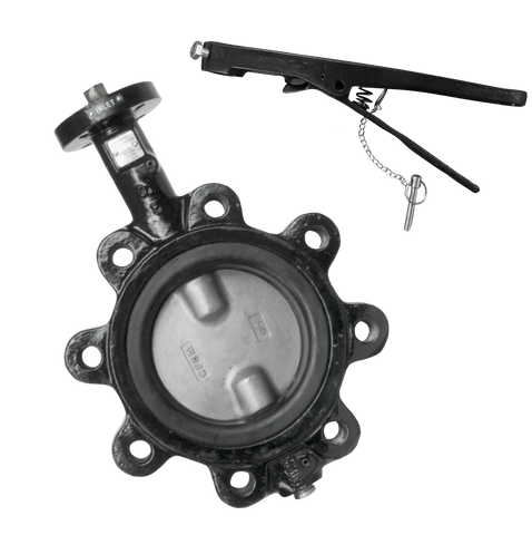 Lug Style Butterfly Valve with BUNA-N Seat - Valve Warehouse