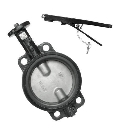 Wafer Style Butterfly Valve with PTFE Seat - Valve Warehouse