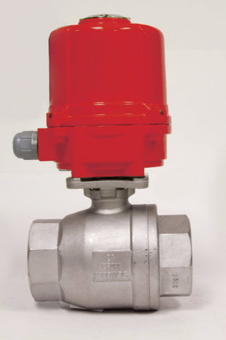 Direct Mount Double Acting Electric Actuator, Stainless Steel Ball Valve, 1000 WOG - Valve Warehouse