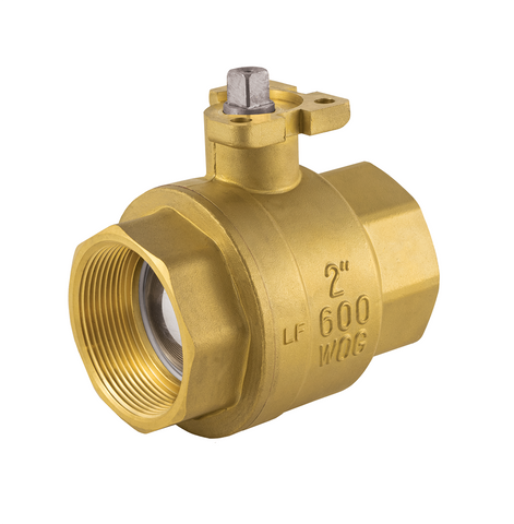 Threaded Direct Mount Ball Valve with ISO Mounting Pad - Valve Warehouse