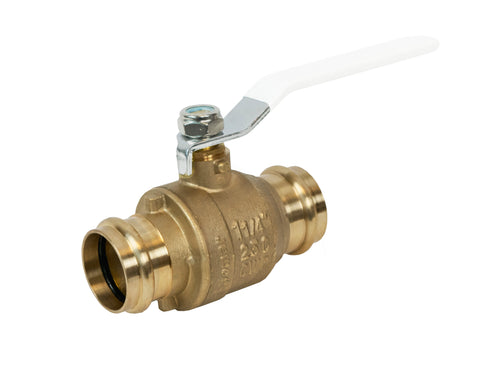 Lead Free Full Port Press Connection Ball Valve