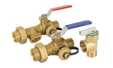 Lead Free Brass Tankless Water Heater Valve Kit - Valve Warehouse - 3