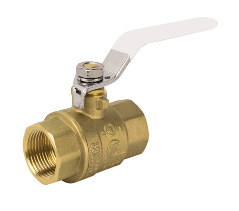 Lead Free Brass Threaded Ball Valve
