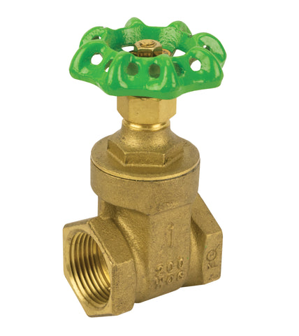 Lead Free Low Pressure Gate Valve Threaded with Non-Rising Stem