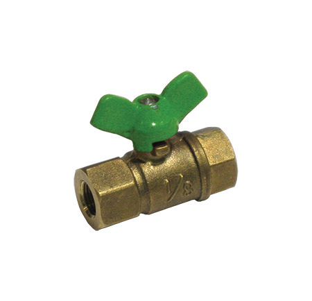 Threaded Lead Free Brass Mini Ball Valve with T-handle - Valve Warehouse