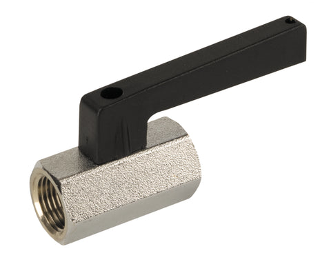 Threaded Brass Mini Ball Valve with Extended Handle