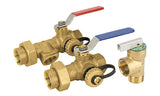 Lead Free Brass Tankless Water Heater Valve Kit - Valve Warehouse - 4
