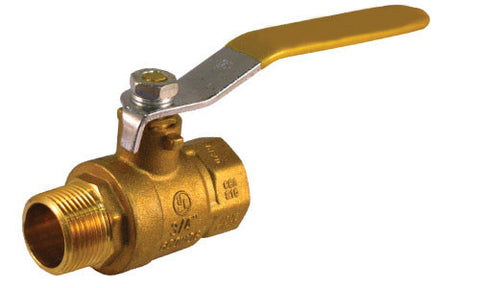 Lead Free Male x Female Brass Ball Valve - Valve Warehouse